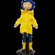 Coraline in Rain Coat Bendy Fashion Doll