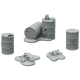 Fallout: Wasteland Warfare - Terrain Expansion: Radioactive Containers